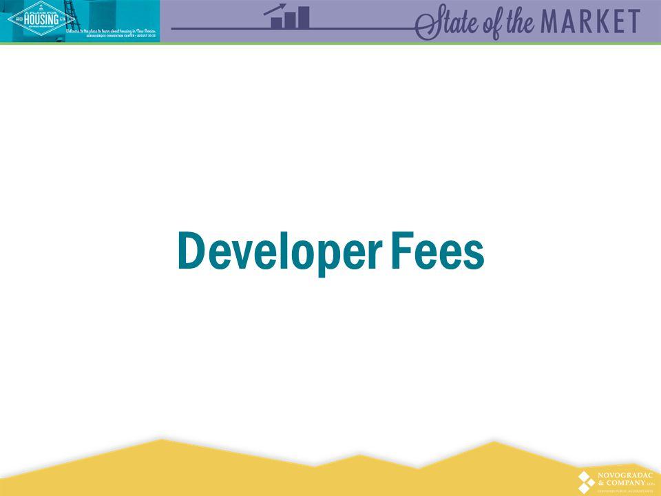 Developer Fees