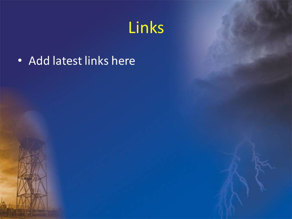 Links Add latest links here