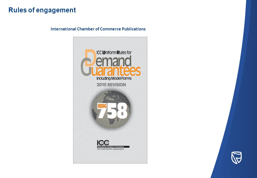 International Chamber of Commerce Publications Rules of engagement