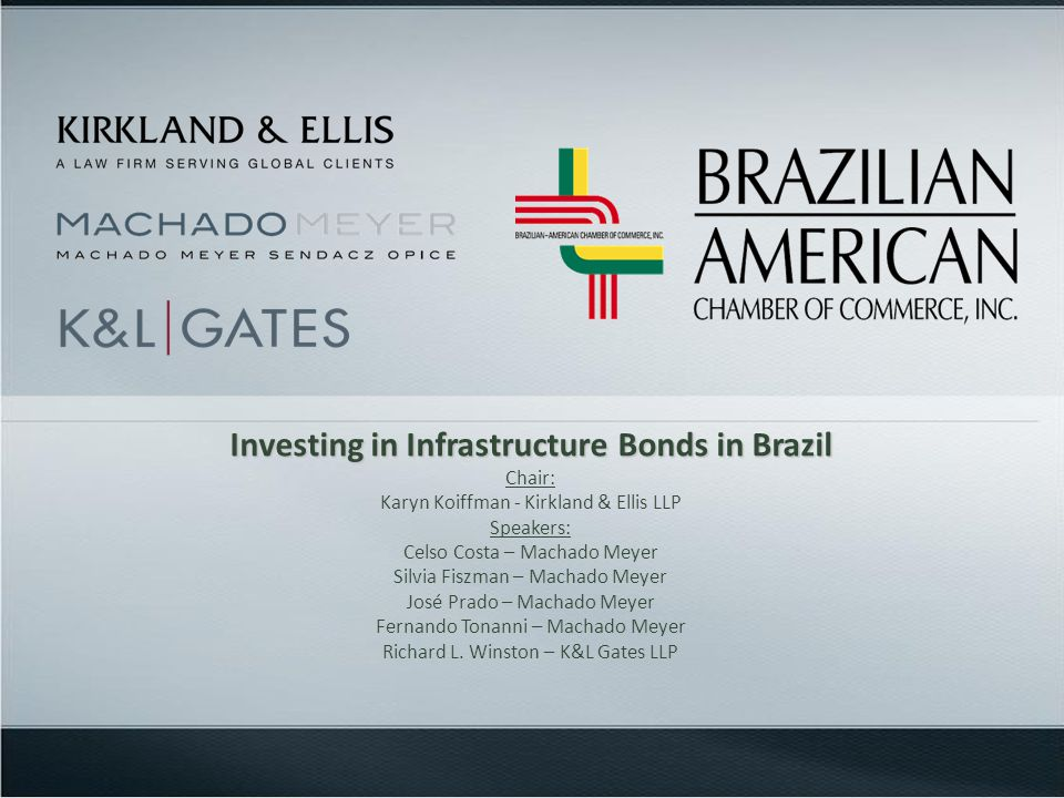 BeneficiaryGeneral Investment BondsInfrastructure Bonds WHTIOF/ExchangeWHTIOF/Exchange Non-resident (not located in LTJ) 0% Non-resident (located in LTJ) 22,5% to 15%0%22,5% to 15%0% Brazilian Individual22,5% to 15%N/A0%N/A Brazilian Entity22,5% to 15%*N/A15%**N/A Comparative Chart: General Investment Bonds vs.