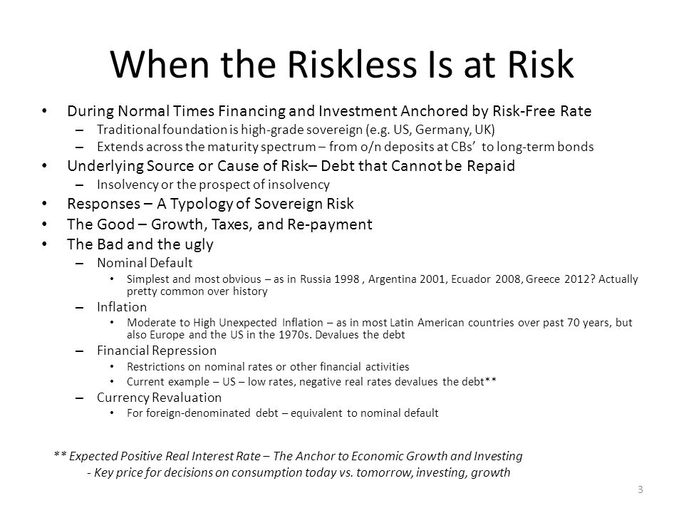 Credit Risk Distorted Problems Start when Credit Risk (Insolvency Hierarchy) is Distorted It is Bad Policies, not Financial Markets, that Produce Long-Term Credit Risk Distortions – Fed's monetary policy 1994-2007* The Productivity Miracle The Y2K The Great Moderation – US Congress housing policies: '00s mortgage democratisation* One mortgage for every American Fanny Mae and Freddy Mac's balance sheet leverage Government implied guaranty on GSEs' MBS 4 * See Appendix
