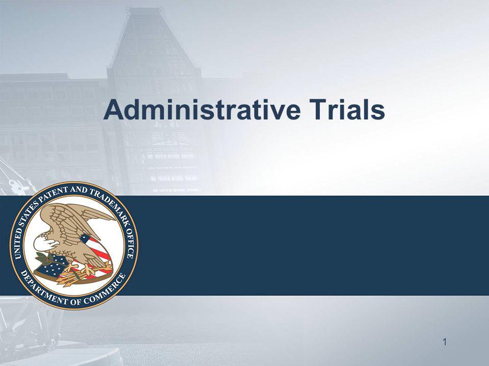 Administrative Trials 1