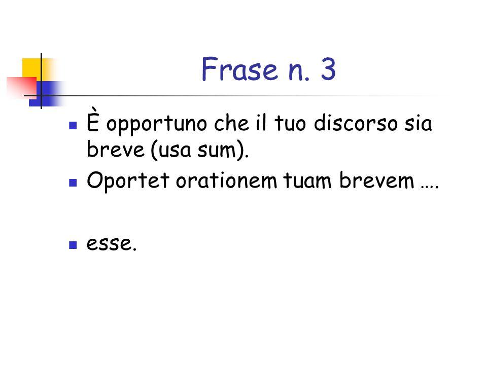 Frase n.4 Tutti sanno che Roma è stata fondata da Romolo (usa condo, is, condidi, conditum, ere).