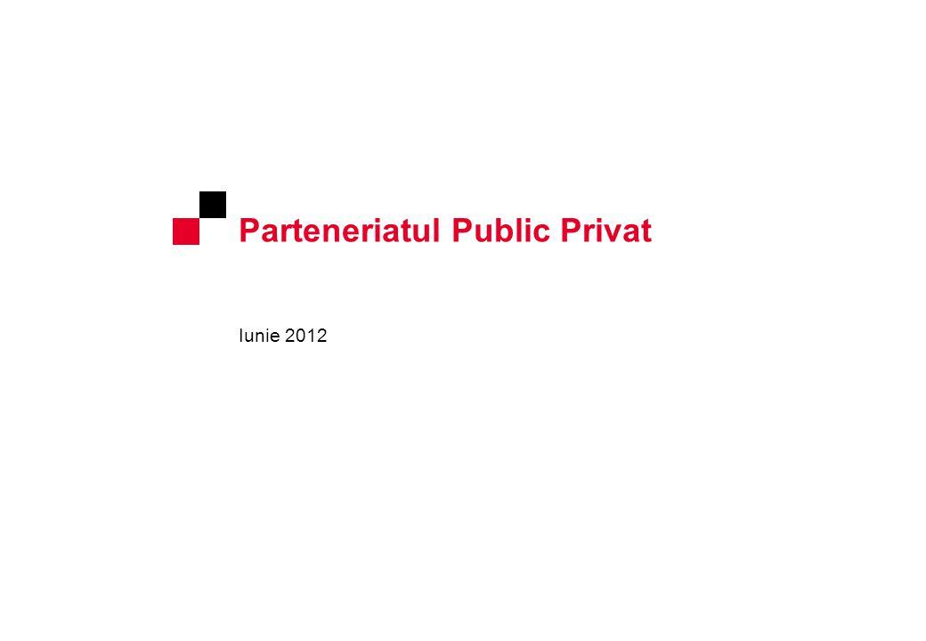 Parteneriatul Public Privat Iunie 2012