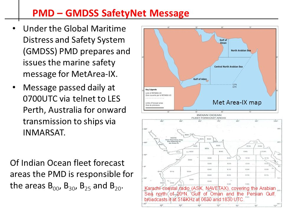 PMD – fleet forecast MORNING FLEET FORECAST GENERAL INFERENCE, DATED ----, ---- Weather: Fair with hazy morning B00, B30, B25 and B20.