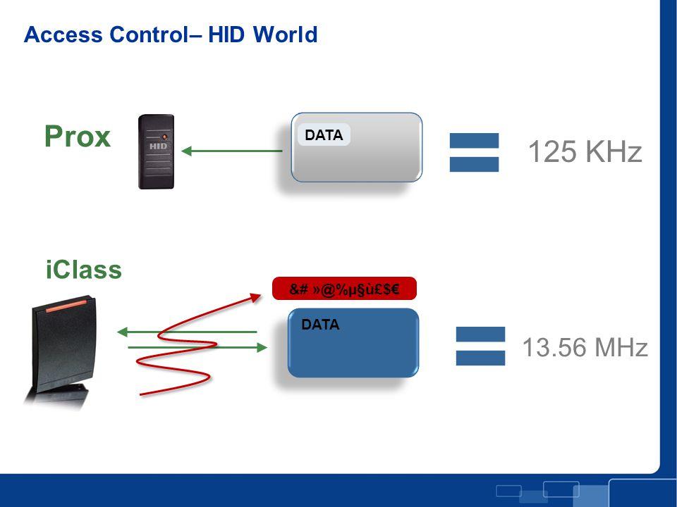 Access Control– HID World DATA &# »@%µ§ù£$€ DATA Prox iClass 125 KHz 13.56 MHz Mayor Seguridad!