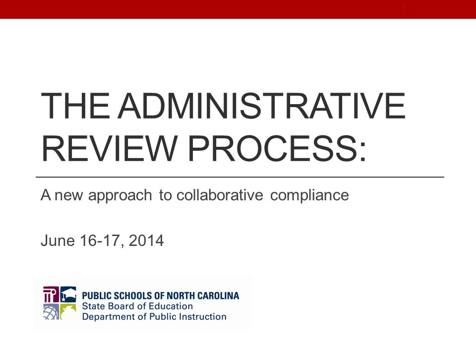 POST REVIEW Procedures after the Administrative Review 252