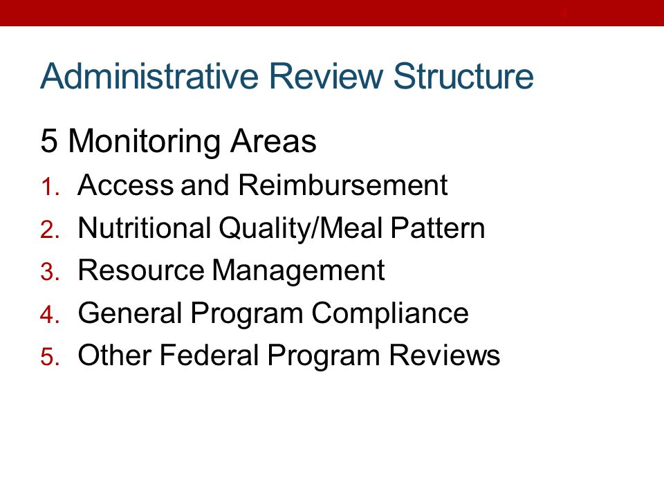 USDA Foods: Review Determine sample size of records to review Validate records to ensure accounting for rebates, discounts and credits Discuss crediting process to assess effectiveness 185