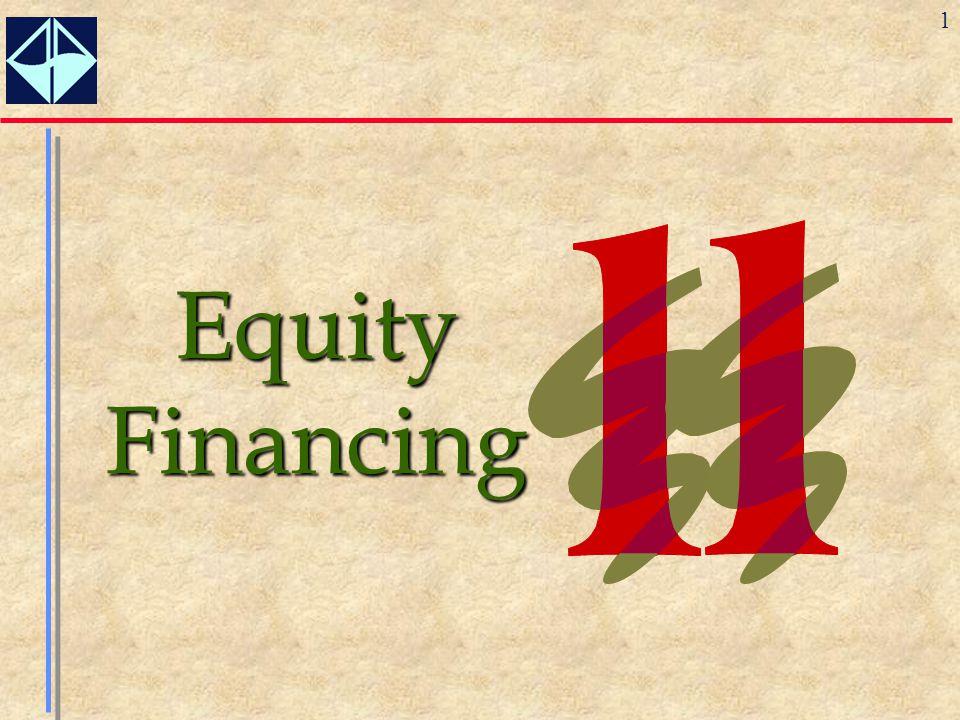 1 Equity Financing