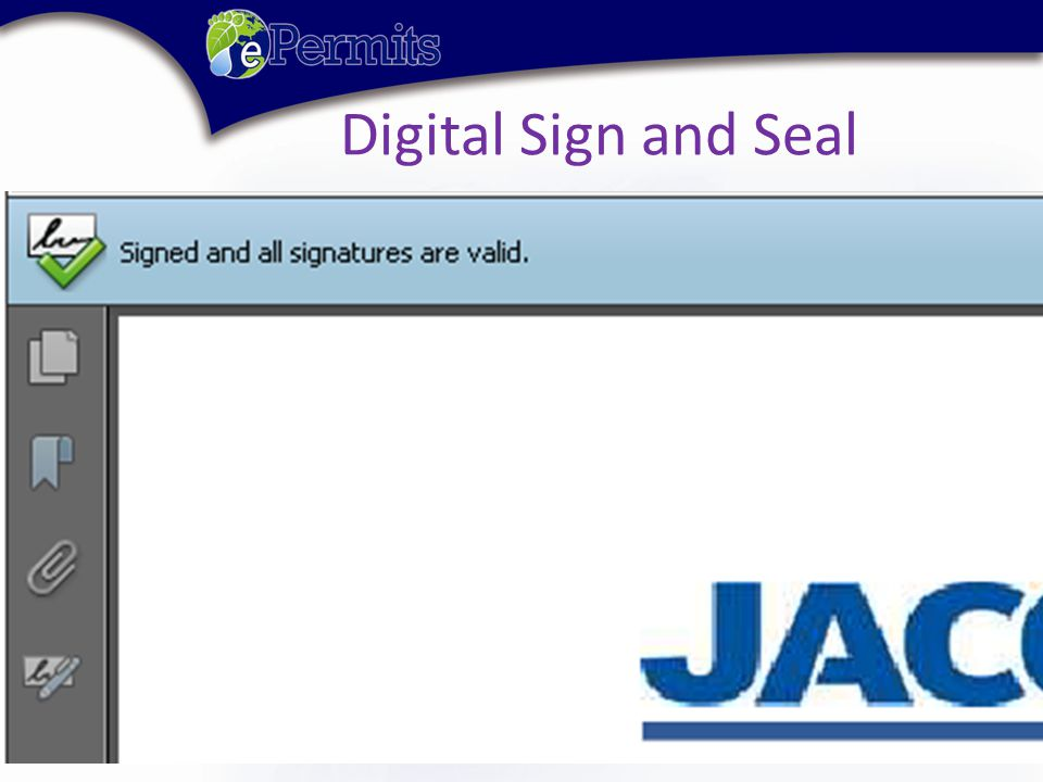 Digital Sign and Seal
