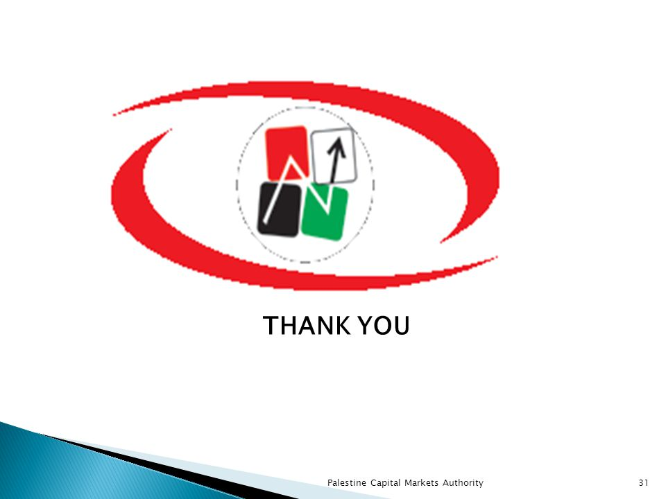 THANK YOU Palestine Capital Markets Authority31