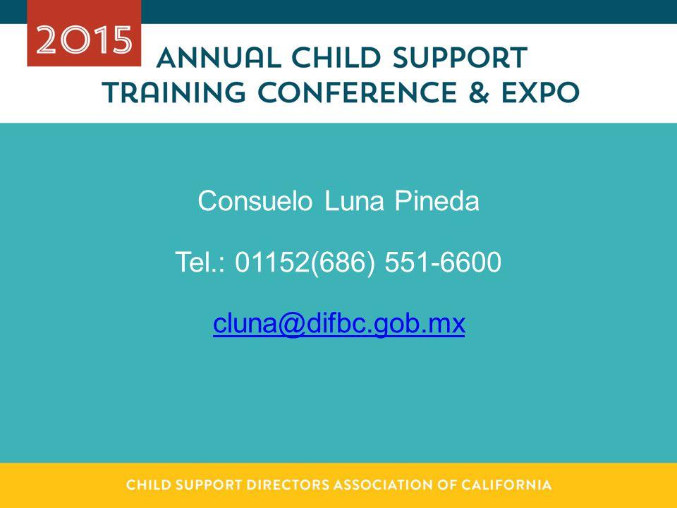 Consuelo Luna Pineda Tel.: 01152(686) 551-6600 cluna@difbc.gob.mx