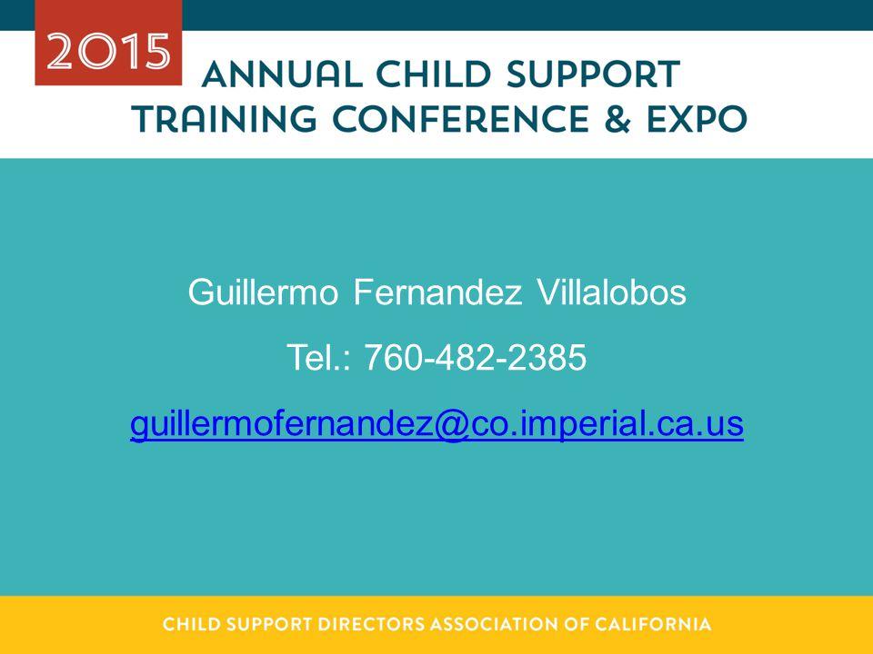 Guillermo Fernandez Villalobos Tel.: 760-482-2385 guillermofernandez@co.imperial.ca.us
