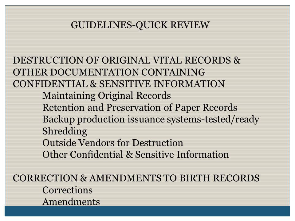 SEGREGATION OF DUTIES Processes where fraud has been detected: Receipt of Monies vs.