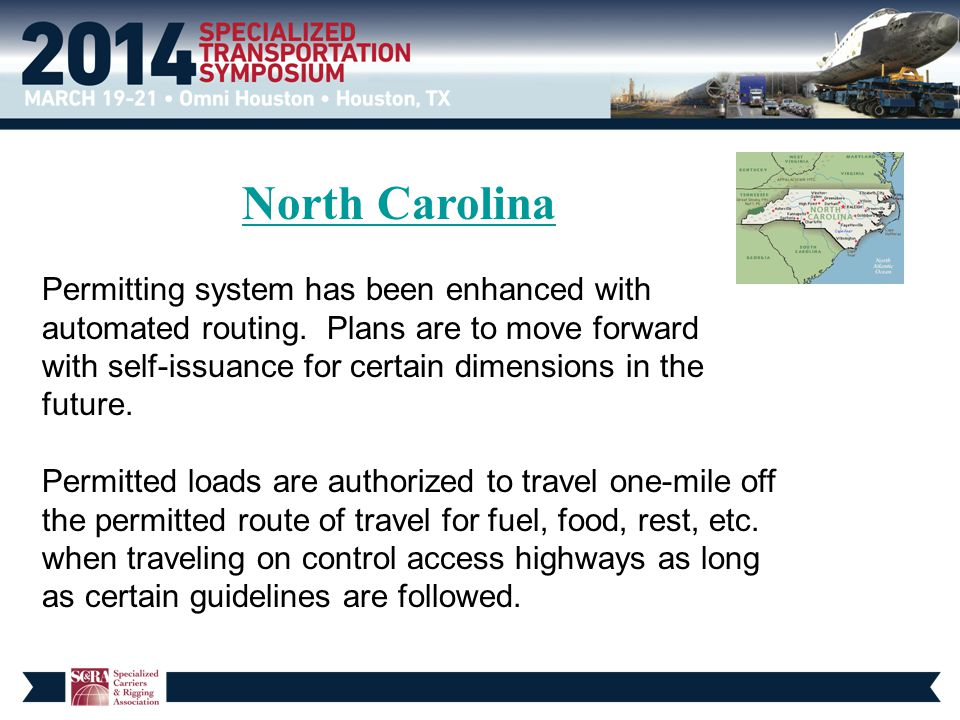 North Carolina Permitting system has been enhanced with automated routing.