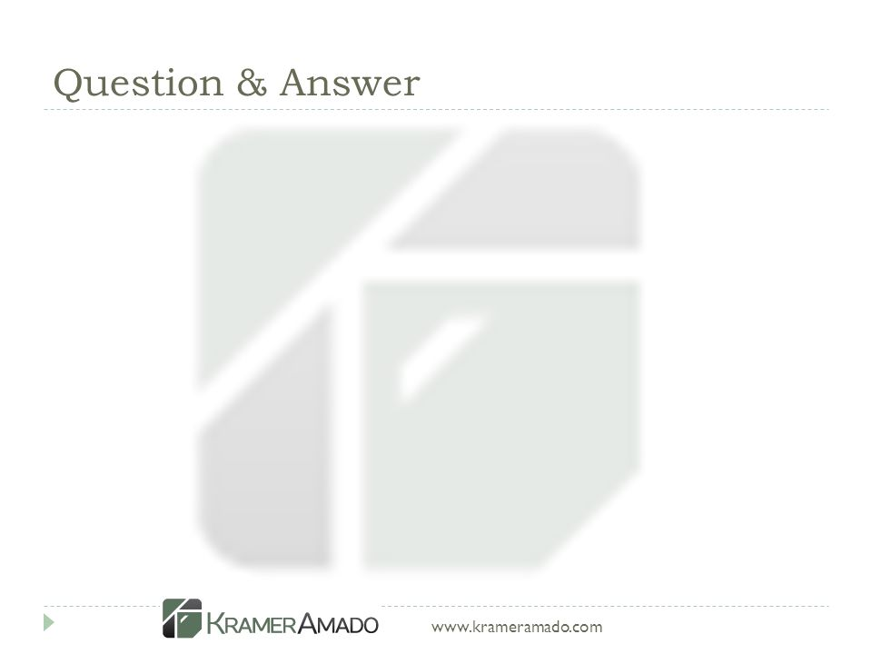 www.krameramado.com Question & Answer