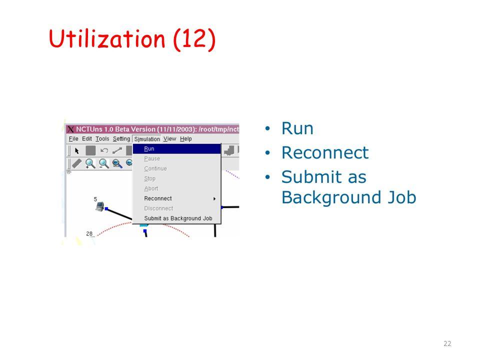 22 Utilization (12) 