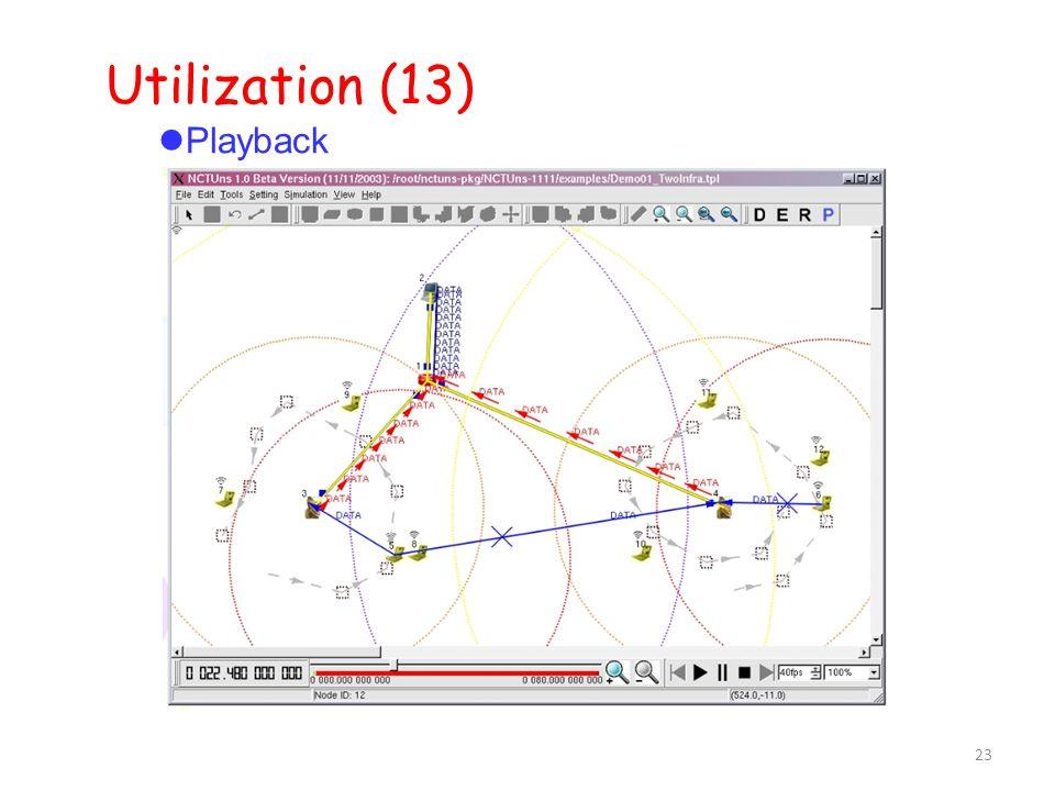 23 Utilization (13)  Playback