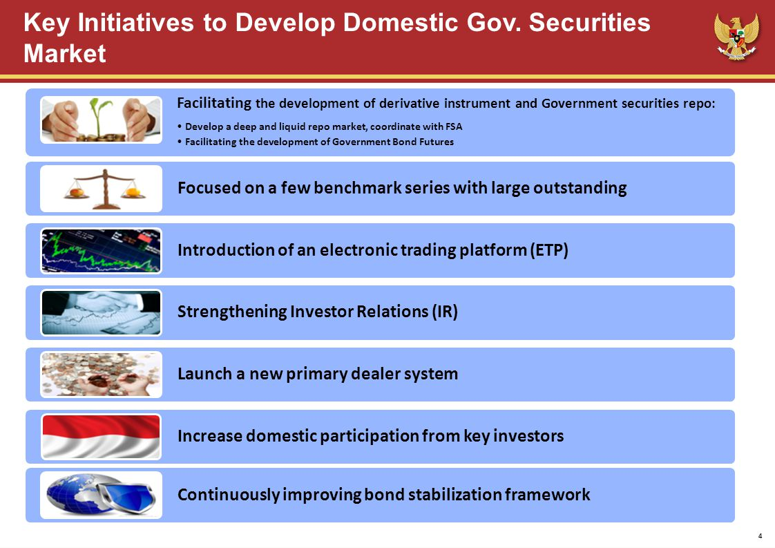 Key Initiatives to Develop Domestic Gov.
