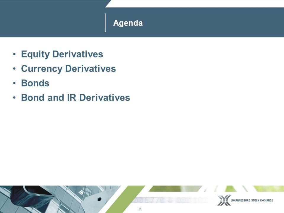13 www.jse.co.za Currency Derivatives