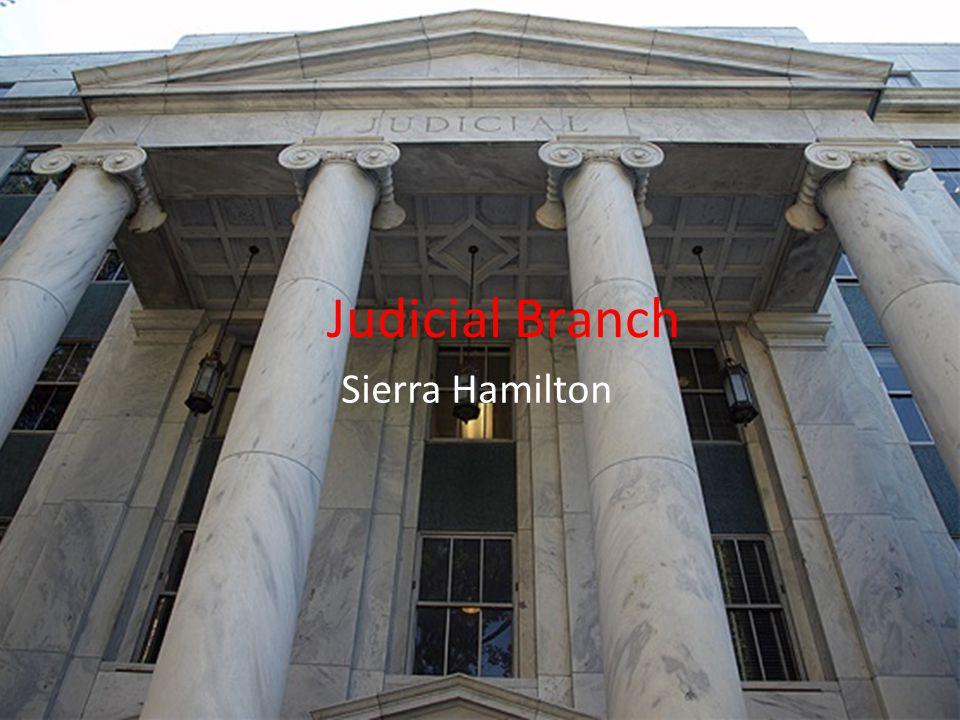 Judicial Branch Sierra Hamilton