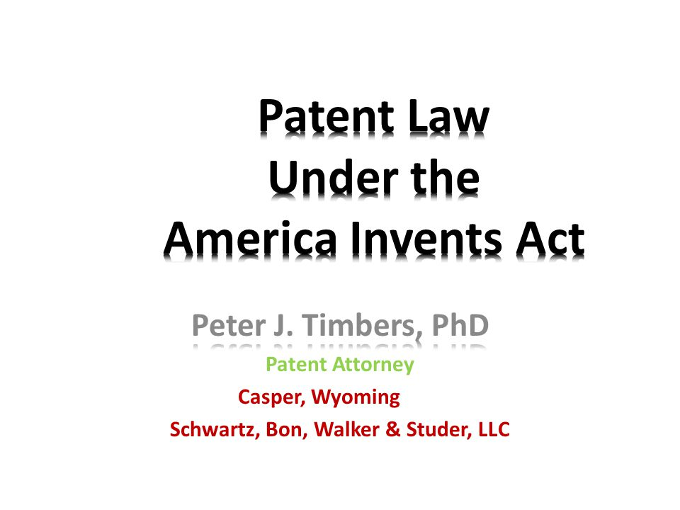 America Invents Act Post-grant review of patents: Two separate proceedings are created by the new law: The inter partes review permits allegations of invalidity pertaining to prior art.