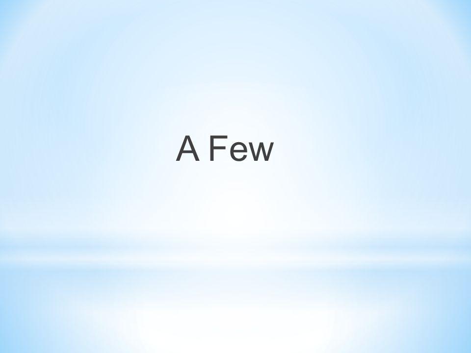 A Few