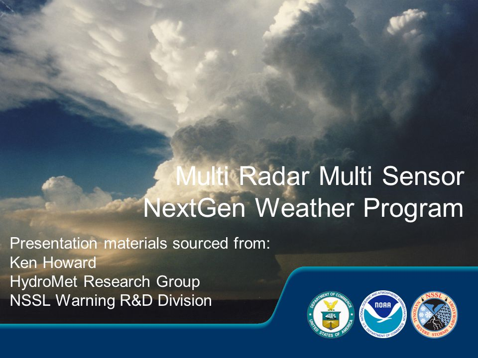 18 Provides, seamless, high resolution data sphere of integrated radar and sensor data for multiple agencies Improves depictions of convective initiation, structure, and evolution for warnings, forecasts, air traffic routing Provides framework for research and development for aviation related products via WJHTC MRMS system Will provide an analysis of record to more robustly understand severe weather and precipitation climatologies nationwide Will strengthen existing and establish new partnerships with multiple development and operational agencies Will save lives, property, aviation delays/accidents MRMS MRMS Summary