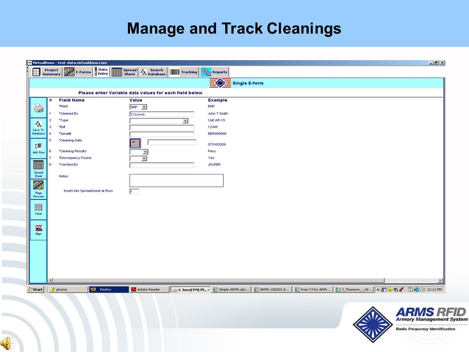 Manage and Track Inspections