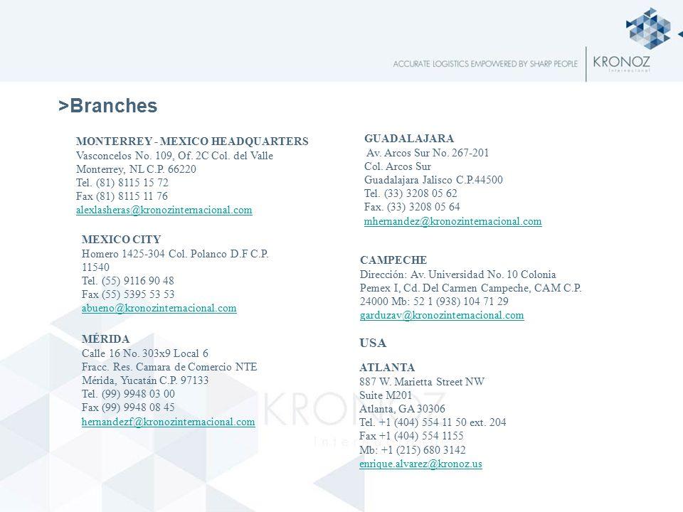 >Branches ATLANTA 887 W. Marietta Street NW Suite M201 Atlanta, GA 30306 Tel.