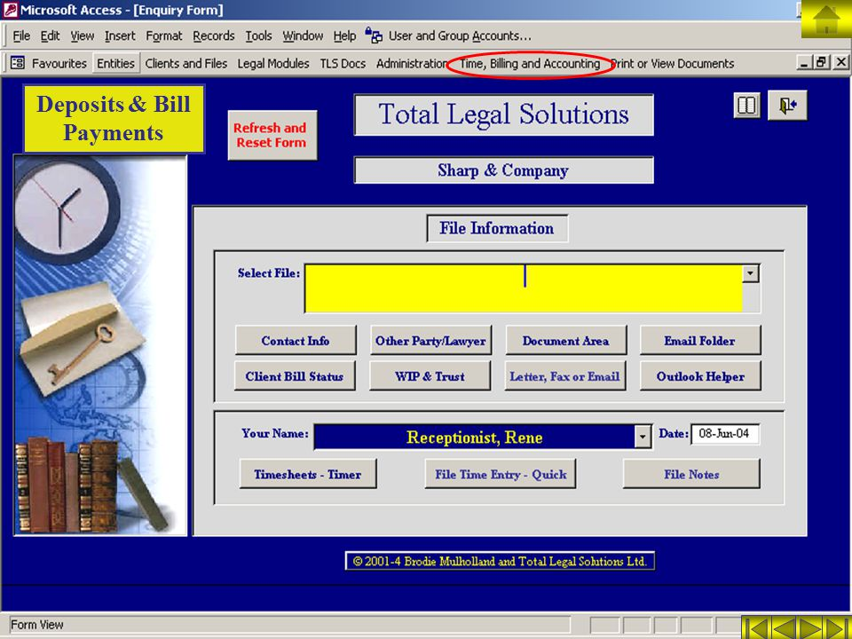 Deposits & Bill Payments