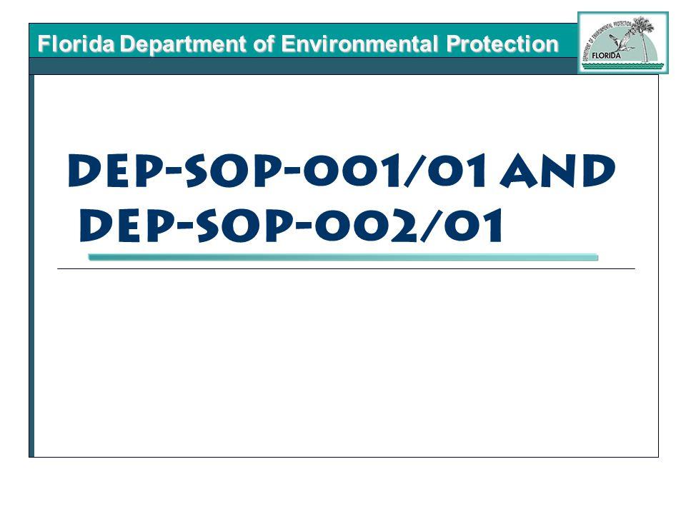 DEP-SOP-001/01 and DEP-SOP-002/01