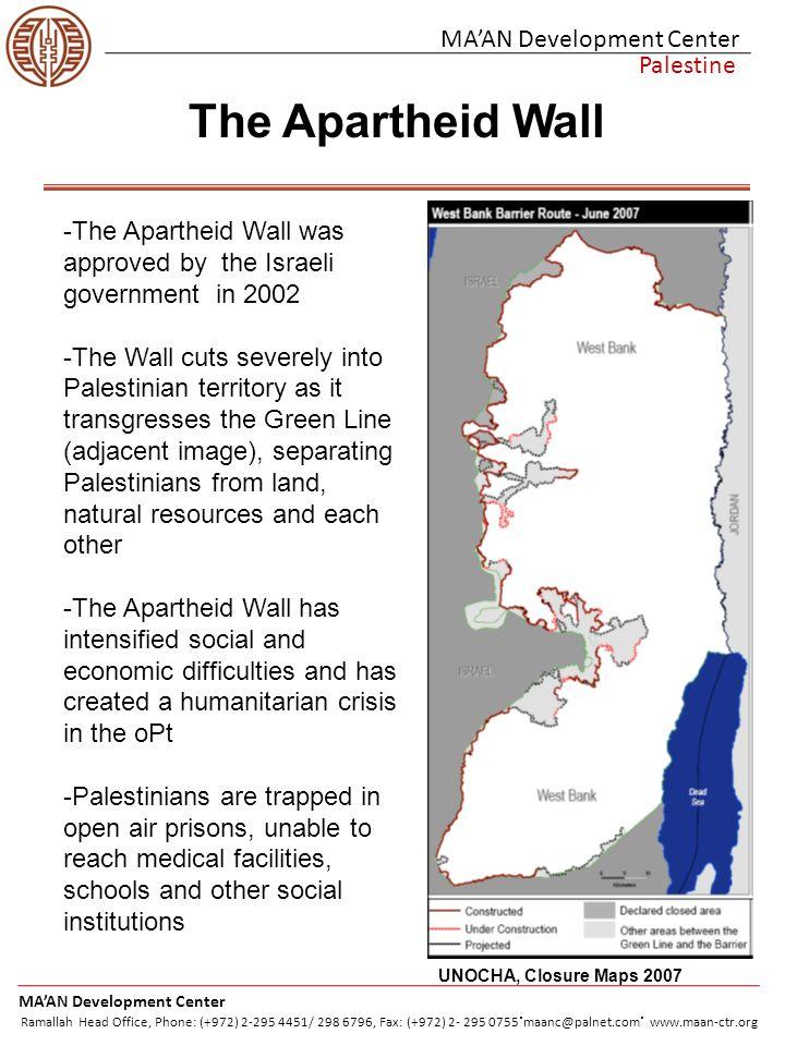 Citations Palestinian ID holders.