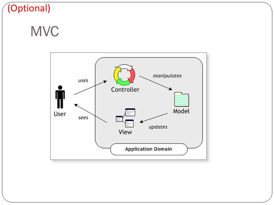 MVC (Optional)