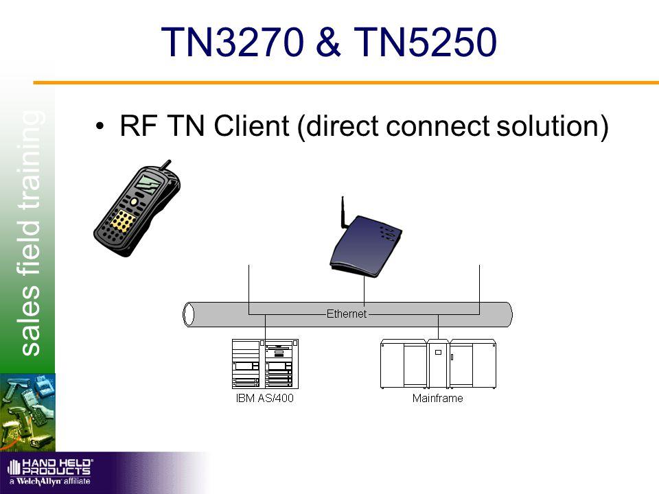 sales field training TN3270 & TN5250 RF TN Client (direct connect solution)