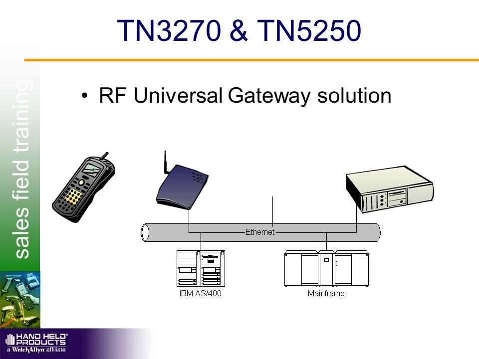 sales field training TN3270 & TN5250 RF Universal Gateway solution