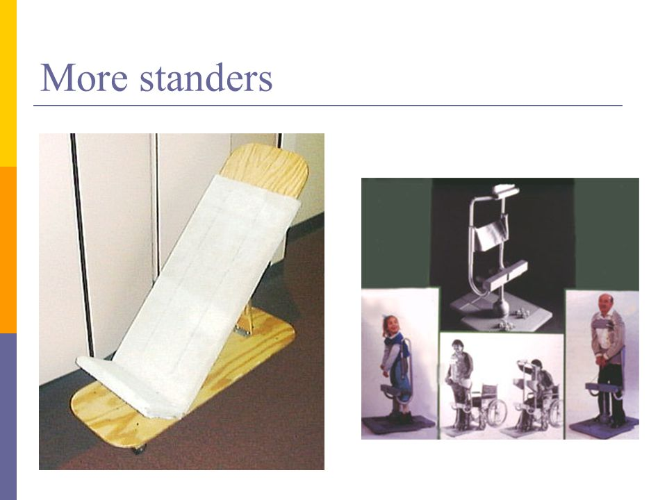 More standers