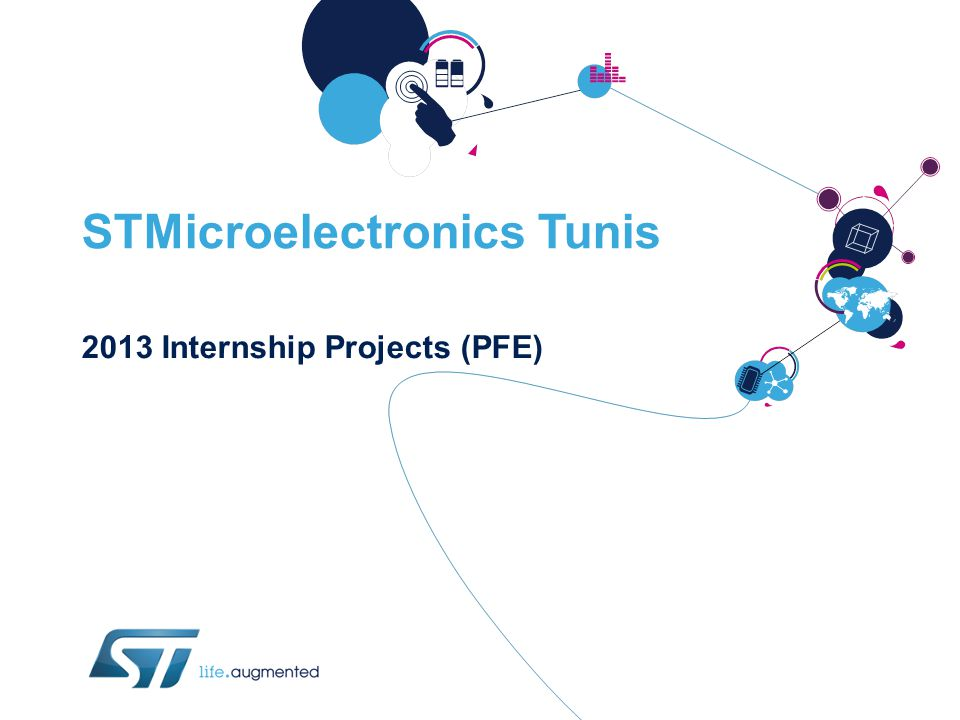 STMicroelectronics Tunis 2013 Internship Projects (PFE)