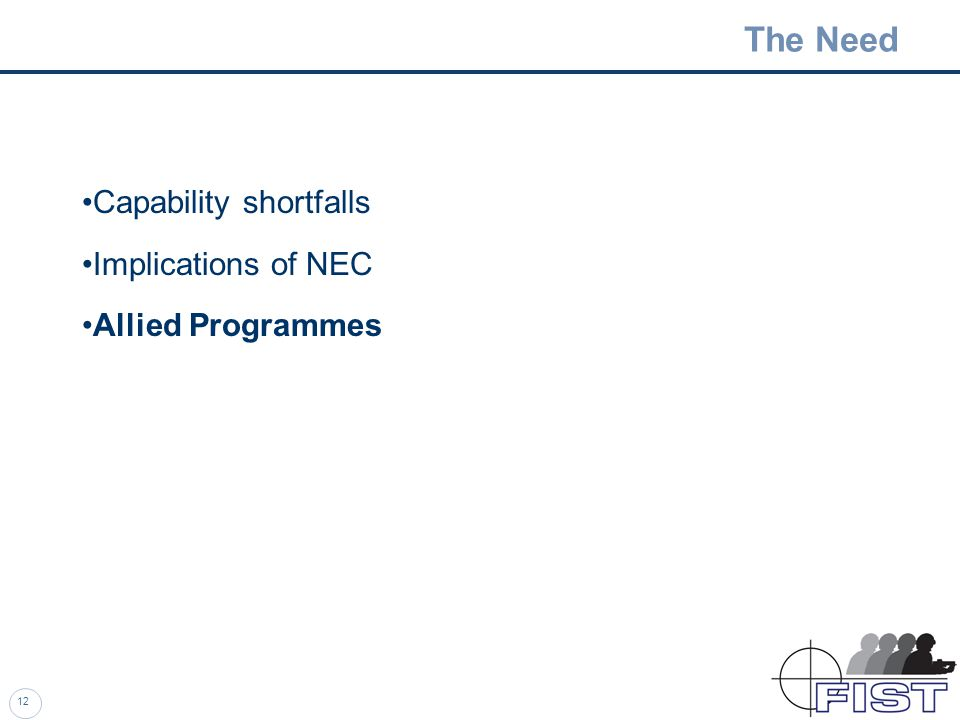11 UGS Network Enabled Capability - The Future