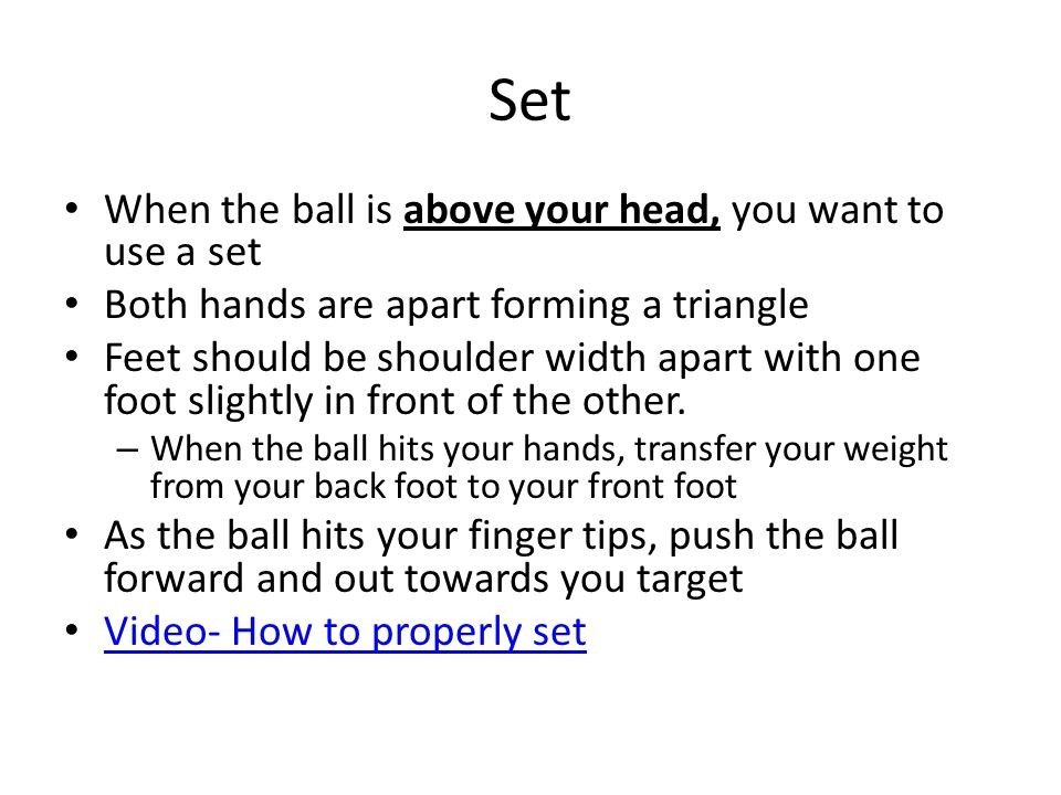 Illegal Hits Lift- when you hit the ball with two open hands (palms facing the ceiling) underhand.