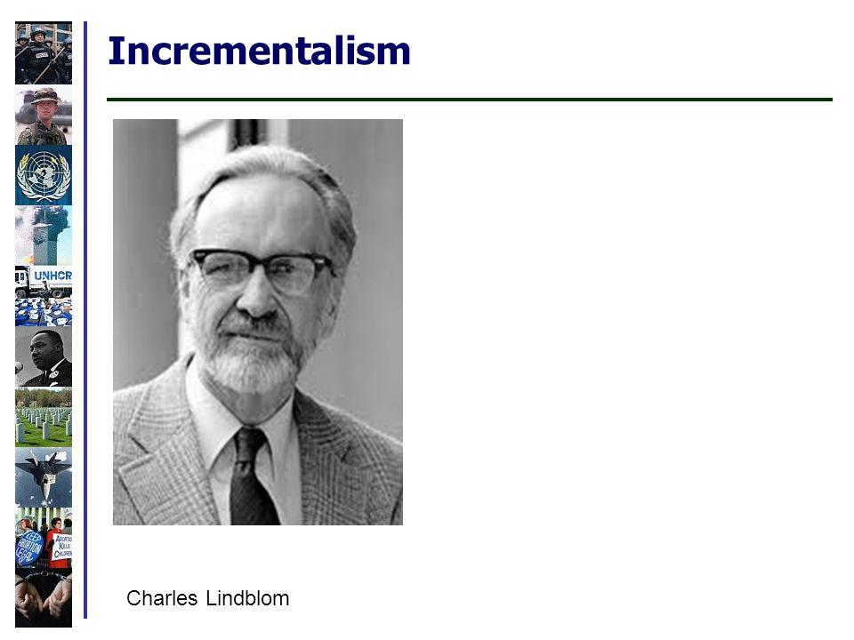 Incrementalism Charles Lindblom
