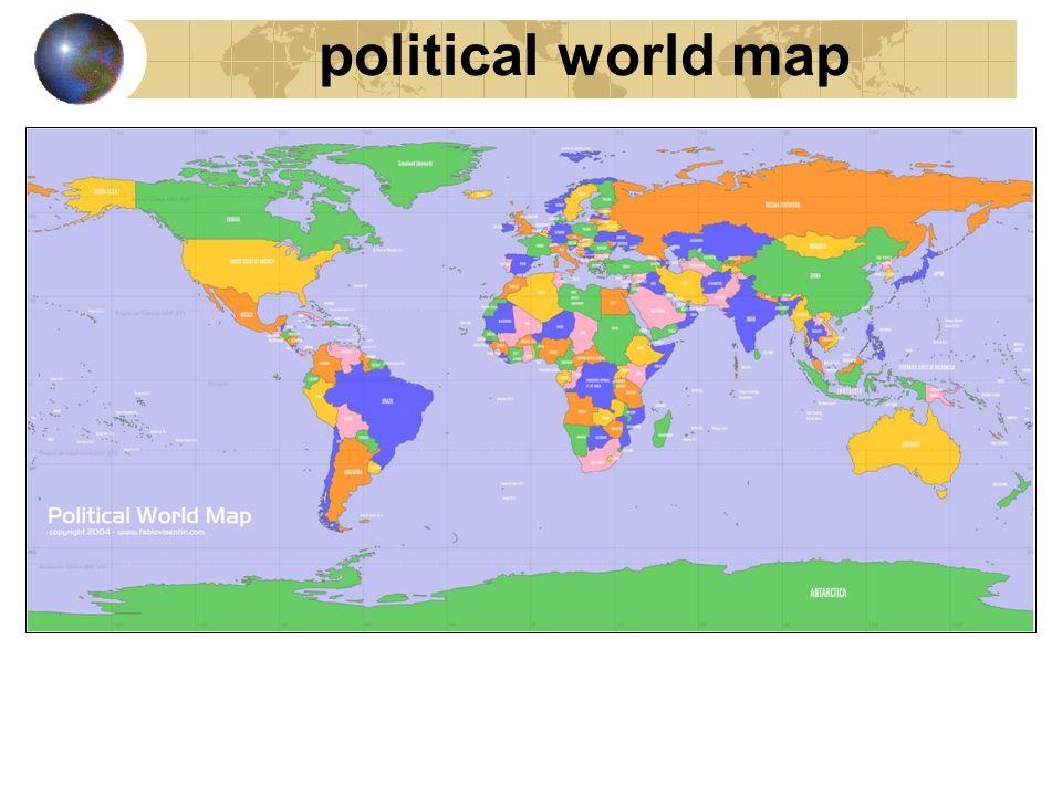 physical world map