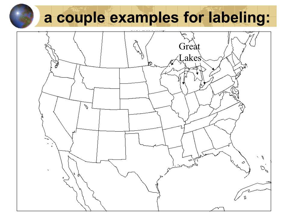 political U.S. map