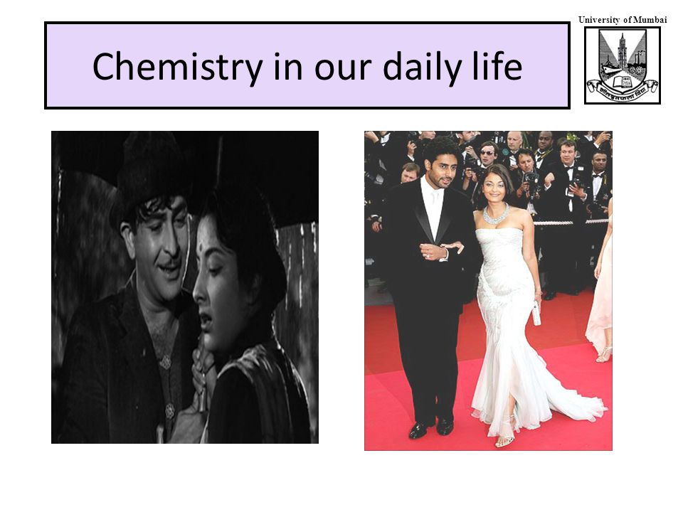 University of Mumbai Chemistry in our daily life