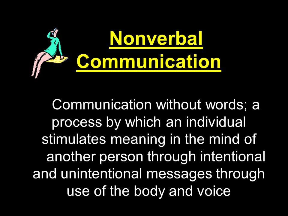 Functions of Nonverbal Behavior