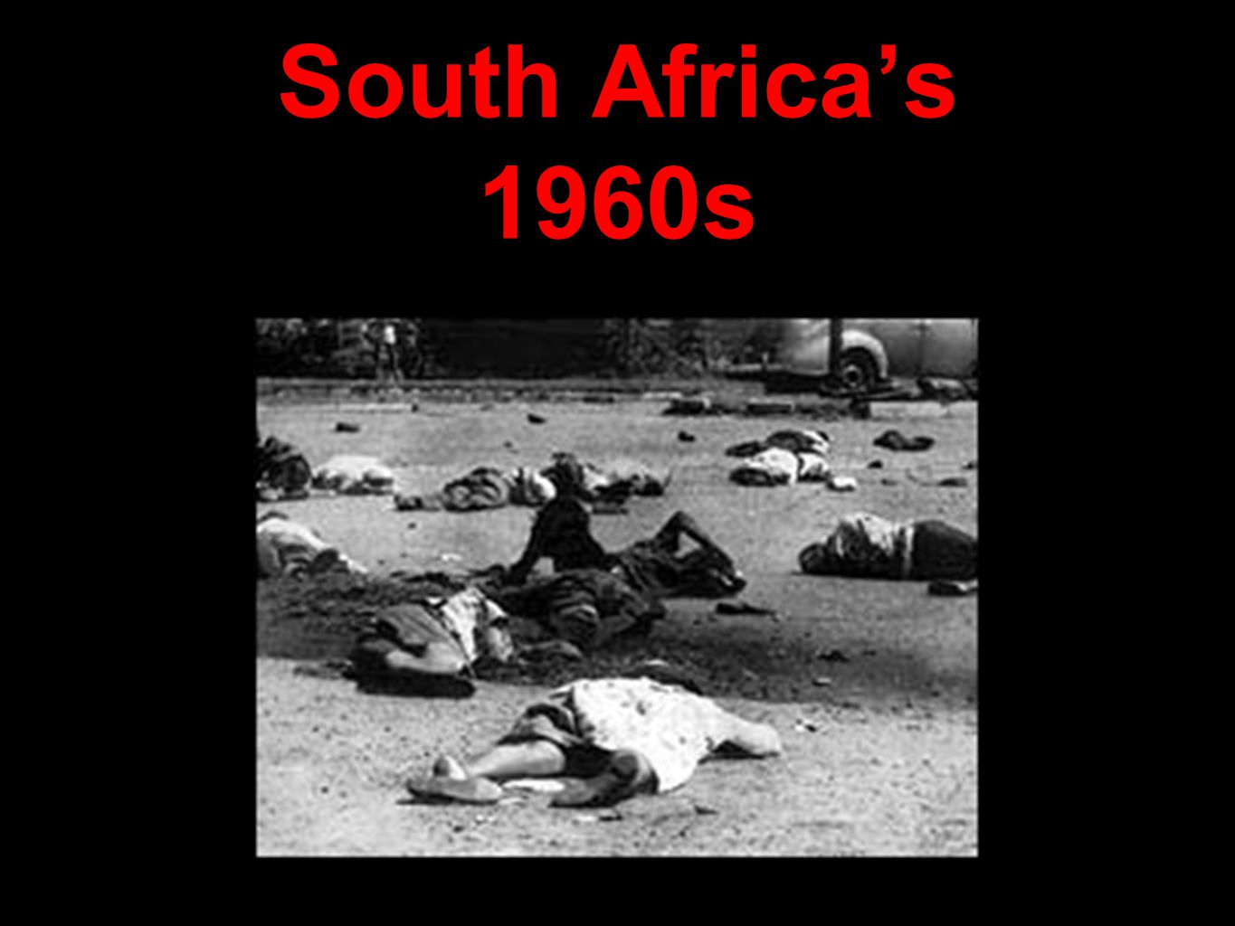 South Africa's 1960s