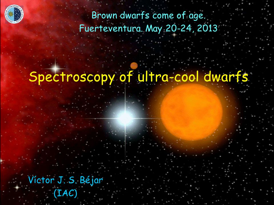 Spectroscopy of ultra-cool dwarfs Brown dwarfs come of age.