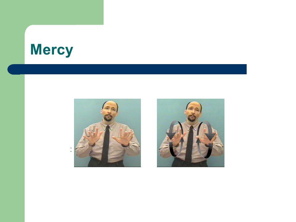 Mercy :