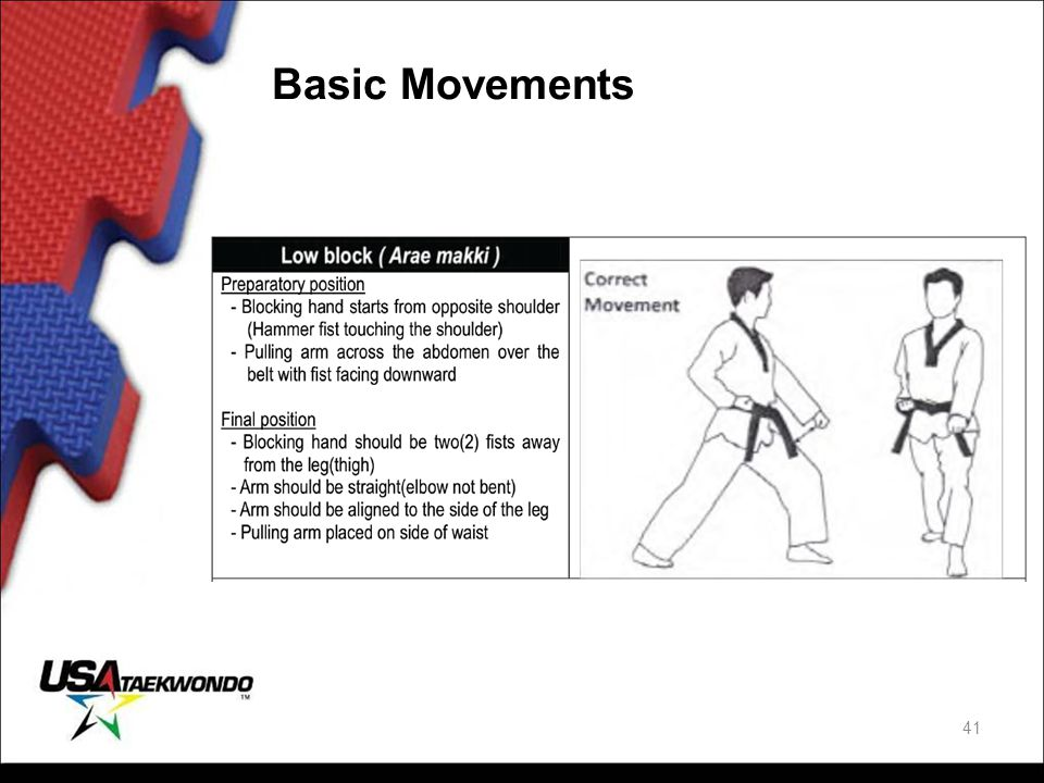 Basic Movements 41