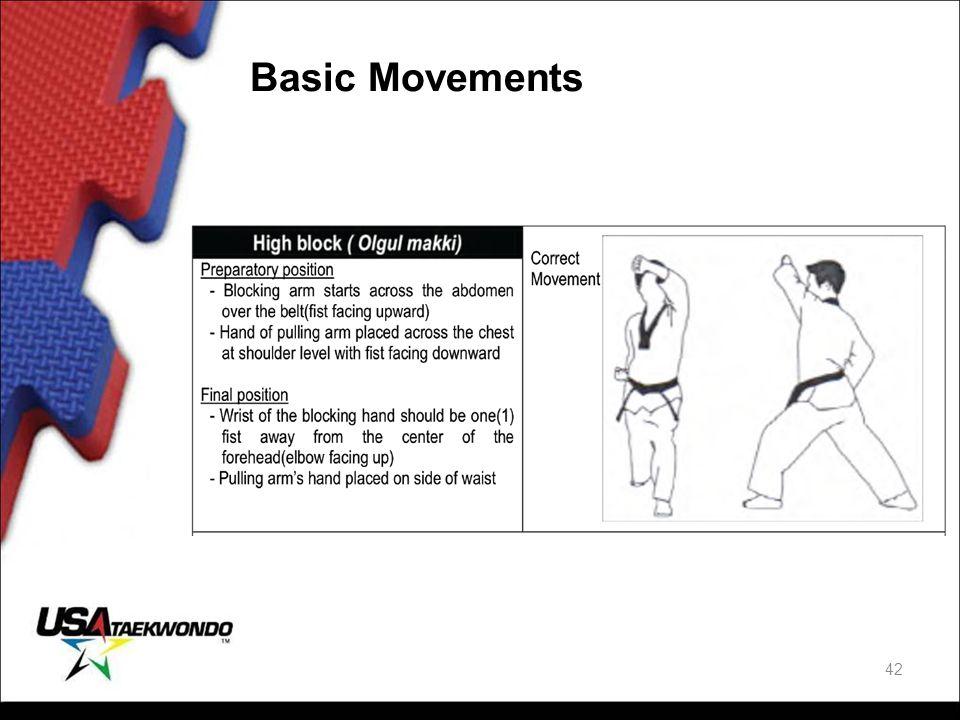 Basic Movements 42